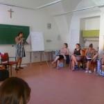 4. 8. 2013 Letní škola - aktivizační techniky a bazální stimulace Velehrad