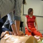 Workshop Lucie Balarinové a Ivy Hlavinkové - Kurz první pomoci pro psychology - duben a květen 2014