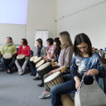 Workshop PhDr. Lubomíra Holzera - Muzikoterapie a její využití v léčebné praxi - duben  2014